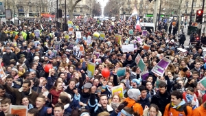 Huge Pro Life March in Paris - Sunday 20th January
