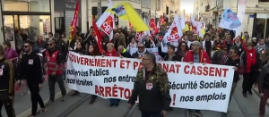 France : Pension Protests enter Day 6 as capital shuts down