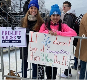 USA - 47th annual March for Life takes place in Washington DC