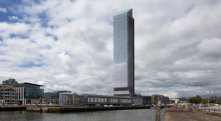 Cork - 34 Storey Hotel Tower at Customs House gets go ahead