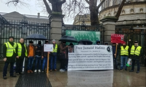 Dublin - Vigil held in support of Junaid Hafeez