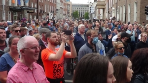 Hundreds attend 'Hands off our Kids' Rally in Dublin