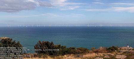 Large Offshore Wind Farm proposed for Dublin Bay