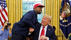 "Kanye West To Trump - ""I love You"""