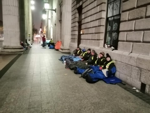 Mass Sleep Out held at GPO to highlight Homelessness