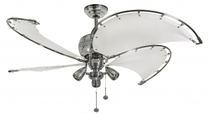Ceiling fan with light  - Spinnaker Combi
