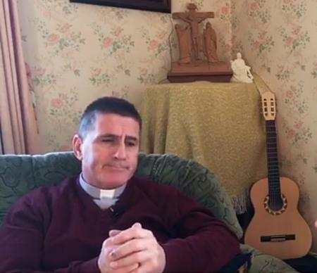 Interview with Cavan Priest cautioned by Gardai over public mass