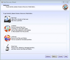 Recover Deleted Files from your hard drive or Memory card