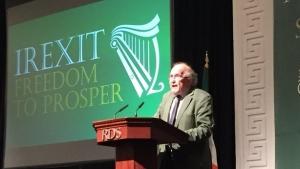 Dr Anthony Coughlan talks #IREXIT on Radio Sputnik