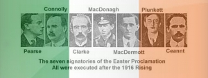 Easter Proclamation 1916 , Irishmen and Irishwomen