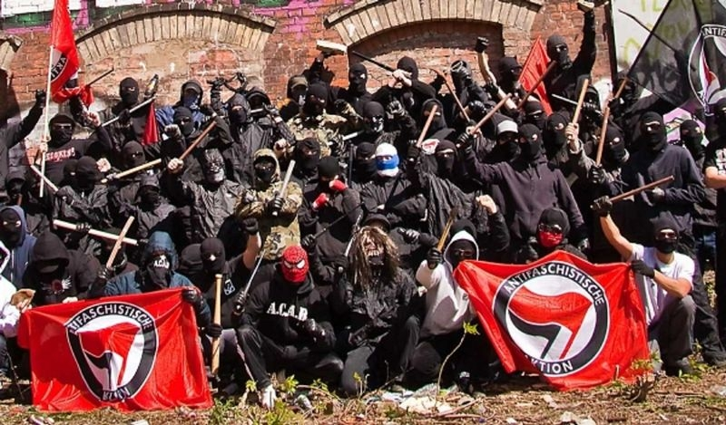 Sinn Fein funding Violent Antifa Organisation