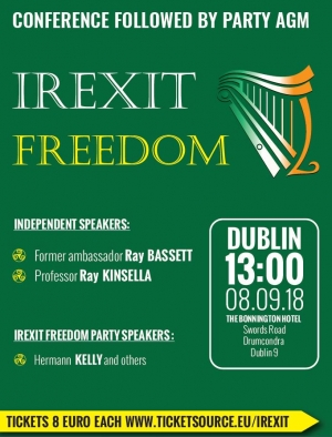 #IREXIT Freedom Conference