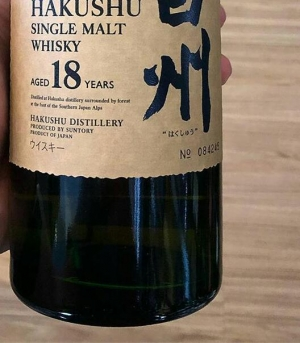 Japanese and Scott whiskey