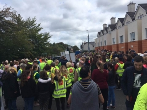 Galway Locals Rally against Direct Provision Centre