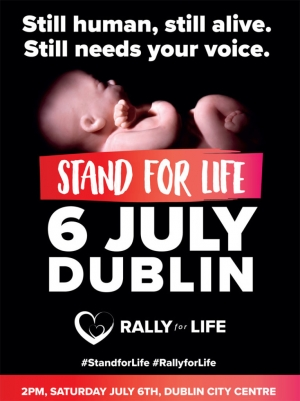 All Ireland Rally for Life Saturday July 6th Parnell Square Dublin