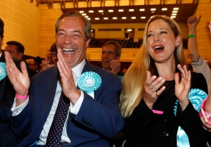 UK - Brexit Party storms to Victory in MEP elections