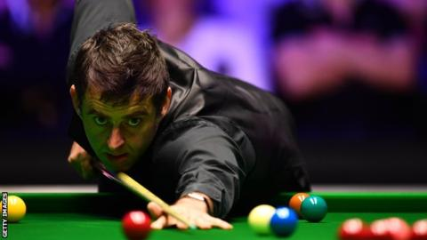 World Grand Prix: Ronnie O'Sullivan makes four centuries v Xiao Guodong