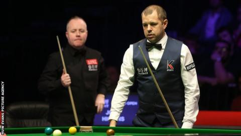Welsh Open: Higgins beats Hawkins for record fifth title