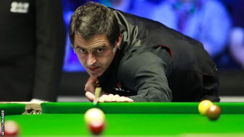 Northern Ireland Open: Ronnie O'Sullivan sails into quarter finals