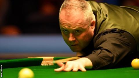 John Higgins wins with broken rib injury at Scottish Open