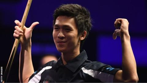 Snooker Shoot Out: Thepchaiya Un-Nooh wins Shoot Out