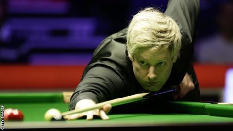 Players Championship: Neil Robertson beats Mark Williams to reach semi-finals