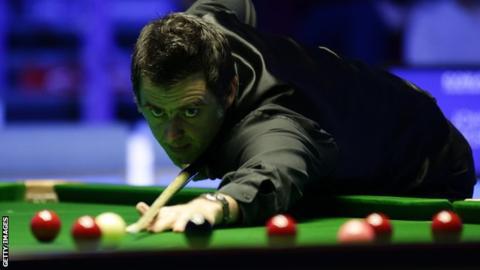 Players Championship: Ronnie O'Sullivan thrashes Mark Allen 6-0 to reach final