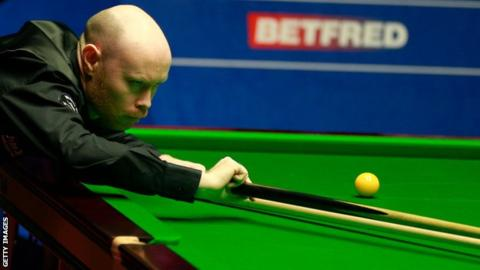 World Snooker Championship: Qualifier Gary Wilson beats Ali Carter to reach semi-final