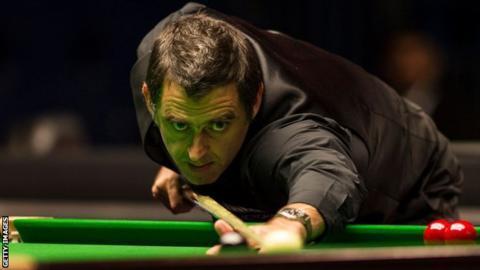 English Open: Ronnie O'Sullivan beats China's Yuan Sijun in Crawley