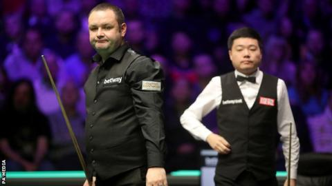 Scottish Open: Ding Junhui and Stephen Maguire through as Stuart Bingham exits