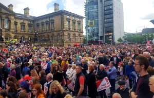 Belfast - Pro Life Rally sends clear message to Sinn Fein and Westminster