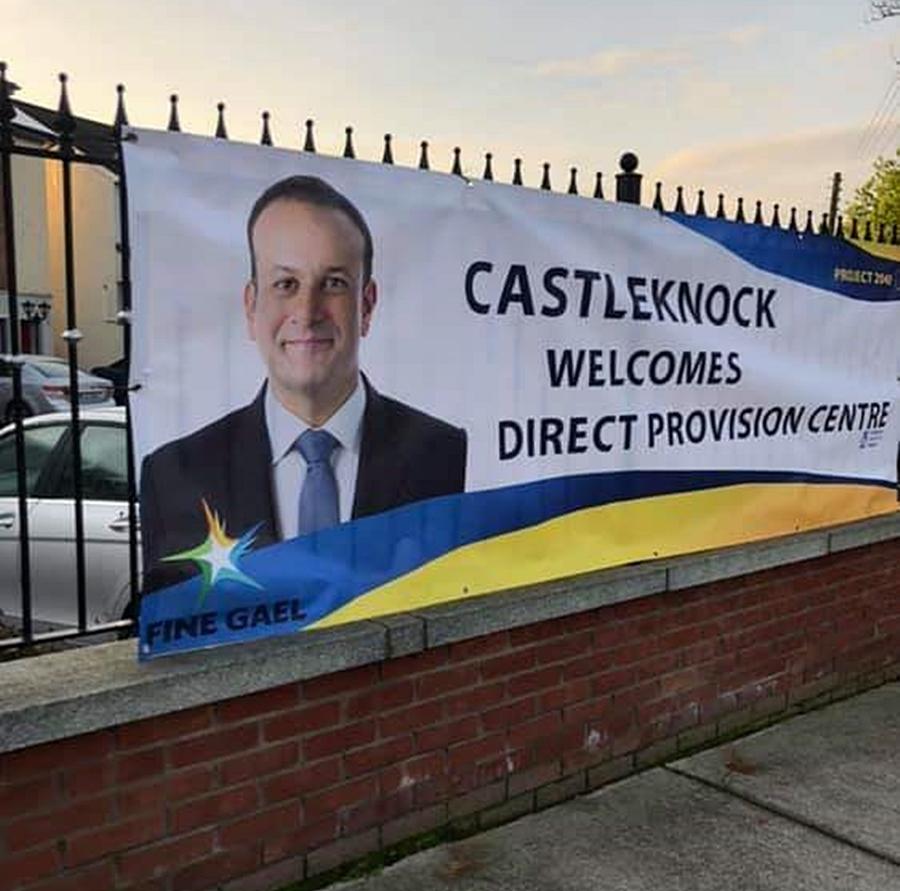 Prank : Castleknock Welcomes Direct Provision Centre