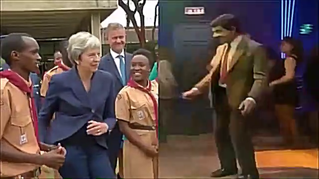 Dance Competition - Theresa May Vs Mr Bean