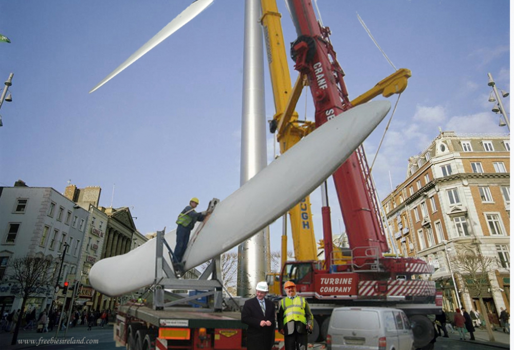 Dublin Spire Finally Completed