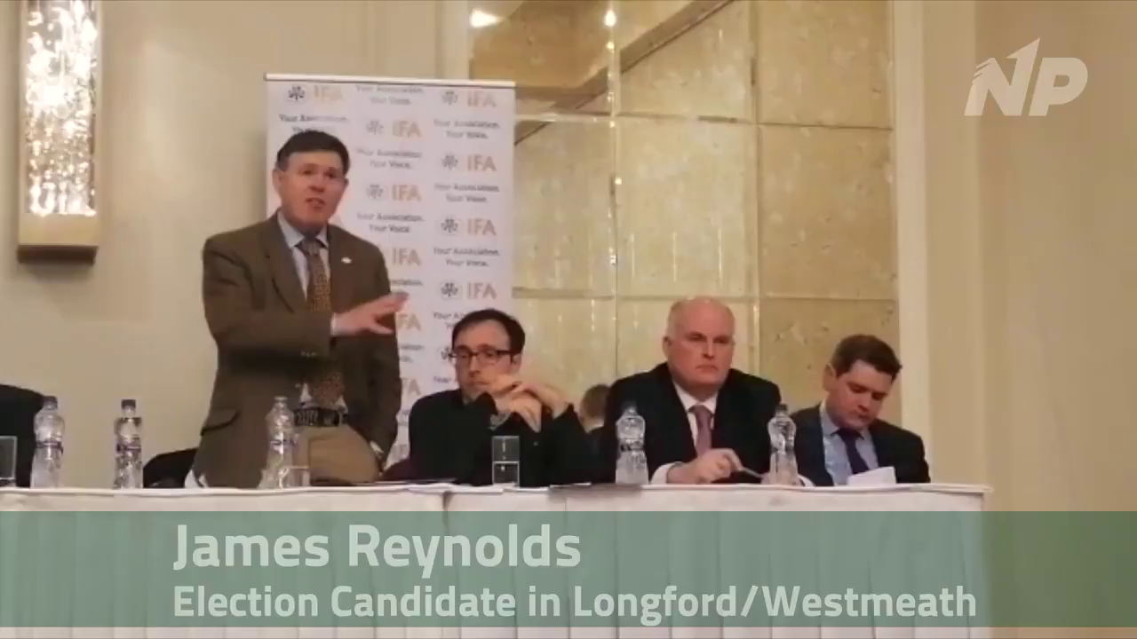 "Longford - James Reynolds ""I will bring forward fair pricing legislation for Farmers"""