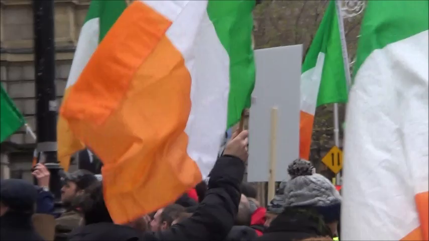 Free Speech Rally in Dublin 16 November 2019