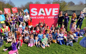 GAA Athletes launch Vote No event in Ballyfermot