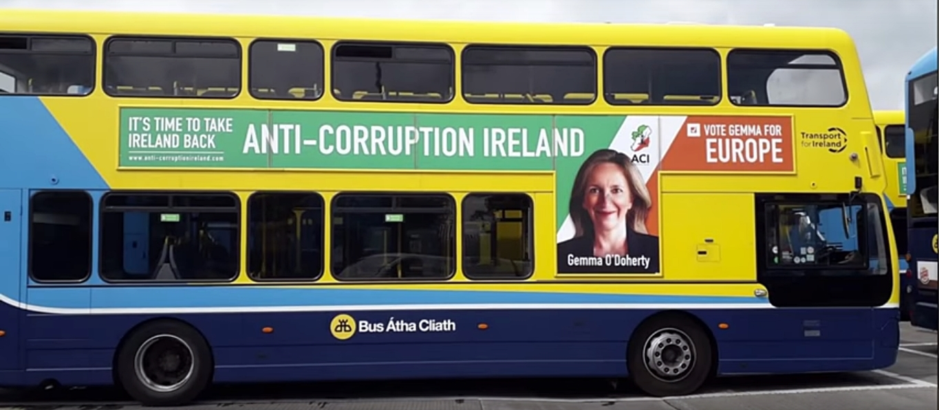 Have You Spotted this Poster on Dublin Buses