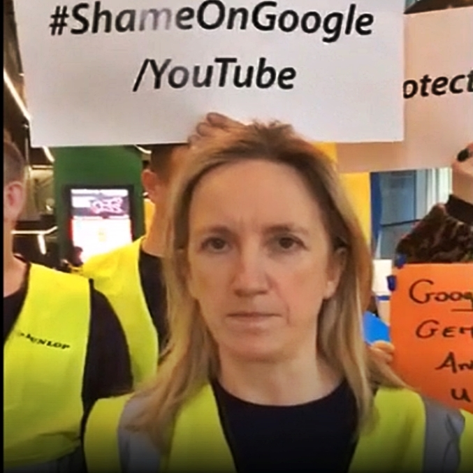 Google bans Gemma O'Doherty