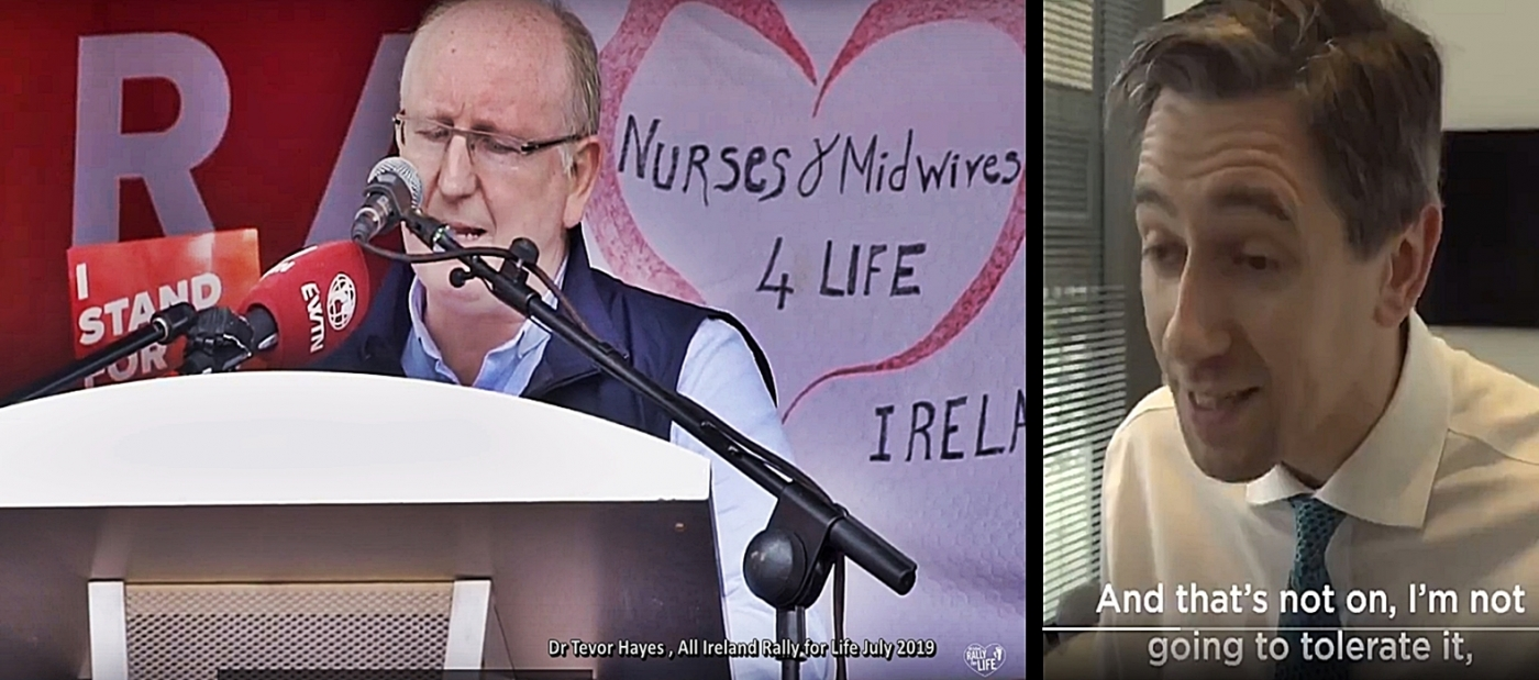 Minister Harris hits out at pro life doctors who refuse to facilitate abortion