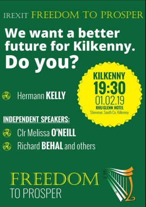IREXIT Freedom Public Meeting Kilkenny