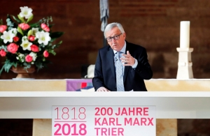 EU Commission President pays tribute to Karl Marx at statue ceremony