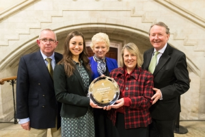 Katie Ascough Wins Westminster Award