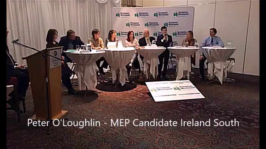 MEP Candidates Ireland South - Peter O'Loughlin