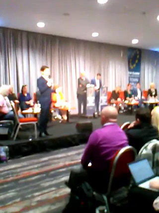 Watch : MEP Candidate Rudely Interrupted by Snowflakes