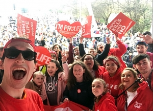 In Pictures - Save 8th Rally for life Dublin 10 March 2018