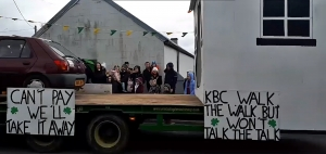 Offaly Parade Winner - Strokestown Eviction Float
