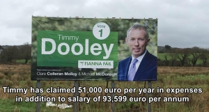 Timmy Dooley - 51,000 euro for expenses