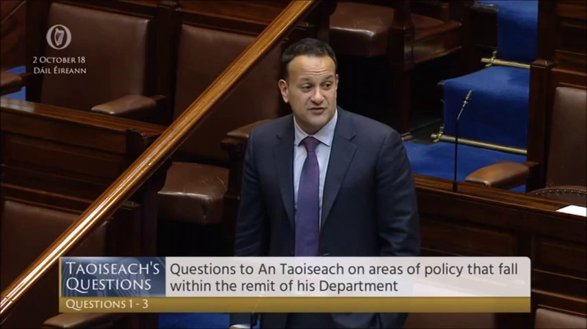 Varadkar - 'Migrants more likely to work and pay tax than irish