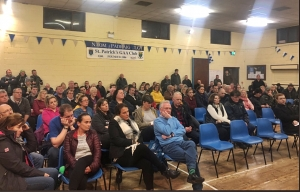 Angry exchanges at Wicklow Meeting to discuss Grand Hotel for Asylum Seekers